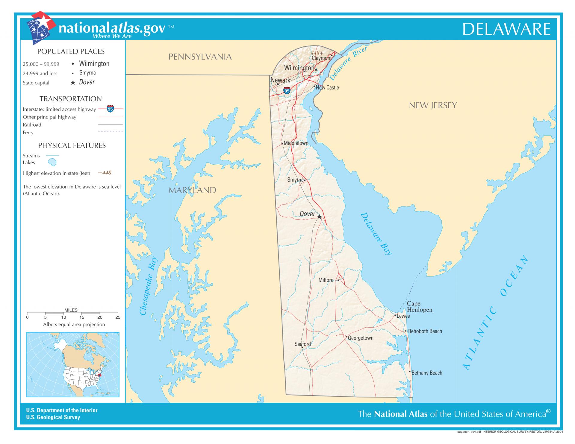 Delaware - The First State - Auf USA-Info.net entdecken