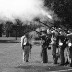 Nachstellung des Sezessionskrieges