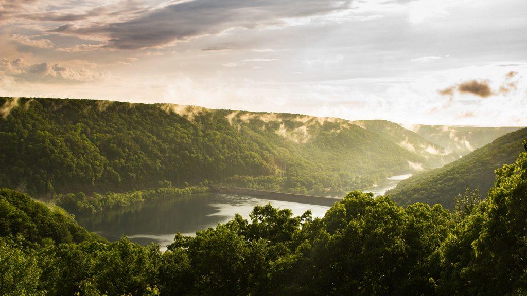 Pennsylvania atemberaubende Landschaft