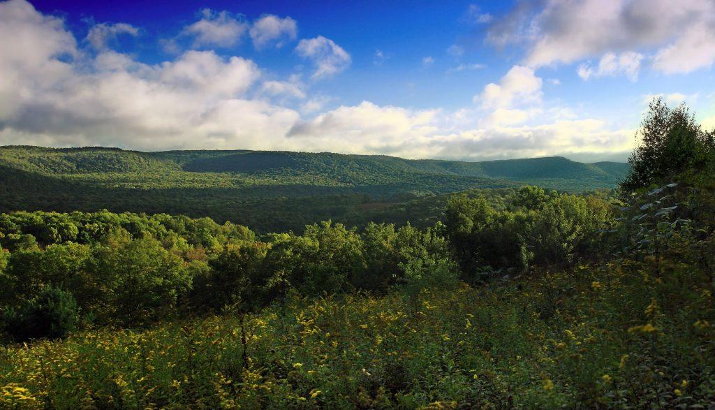 Atemberaubender Blick auf die Pennsylvania Wilds