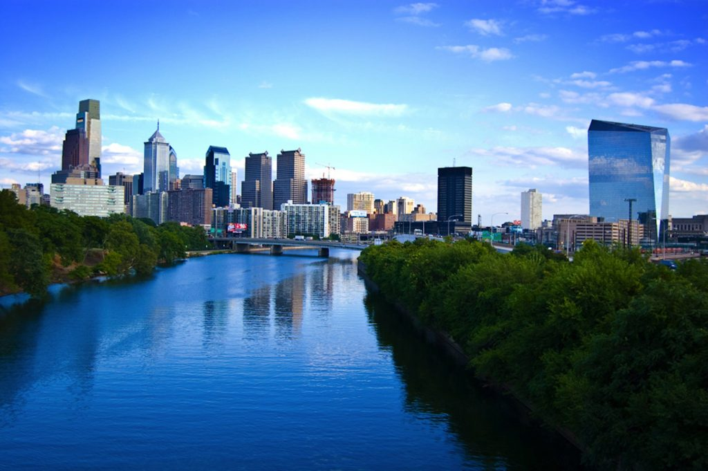 Skyline von Philadelphia, Pennsylvania