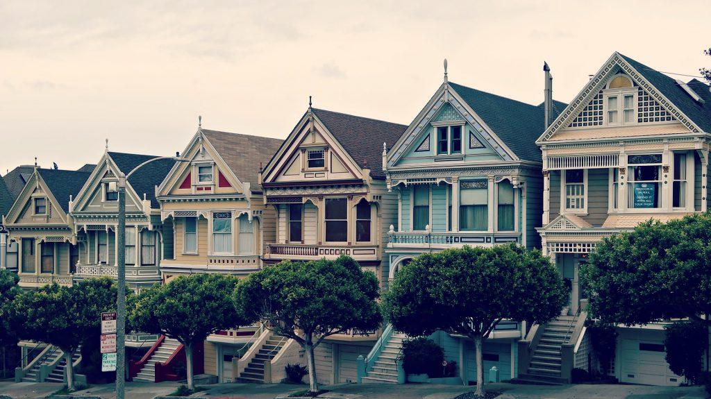 Die bunten Painted Ladies in San Francisco
