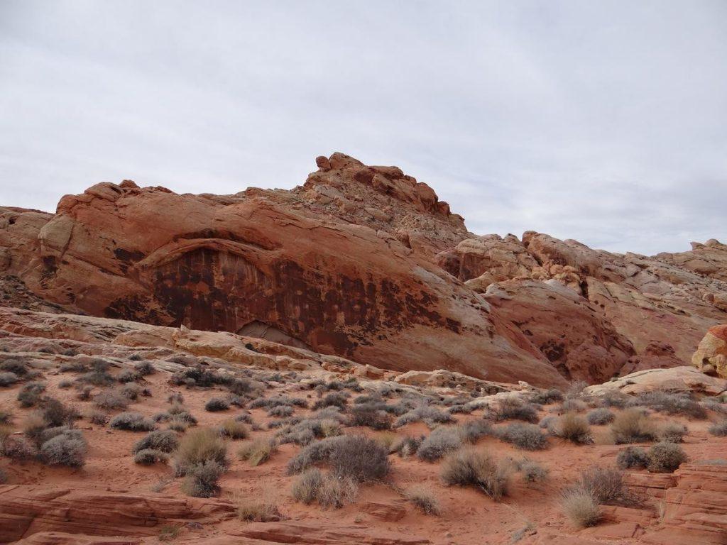 Eine Sandsteinformation im Valley of Fire Nevada State Park