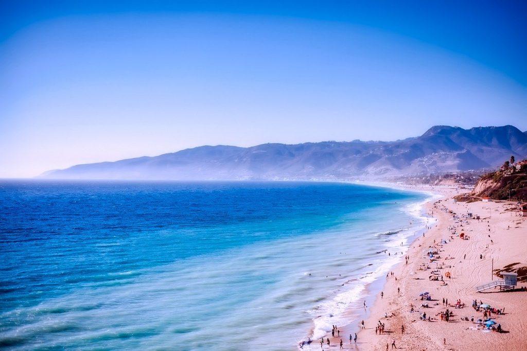 Der Strand von Malibu