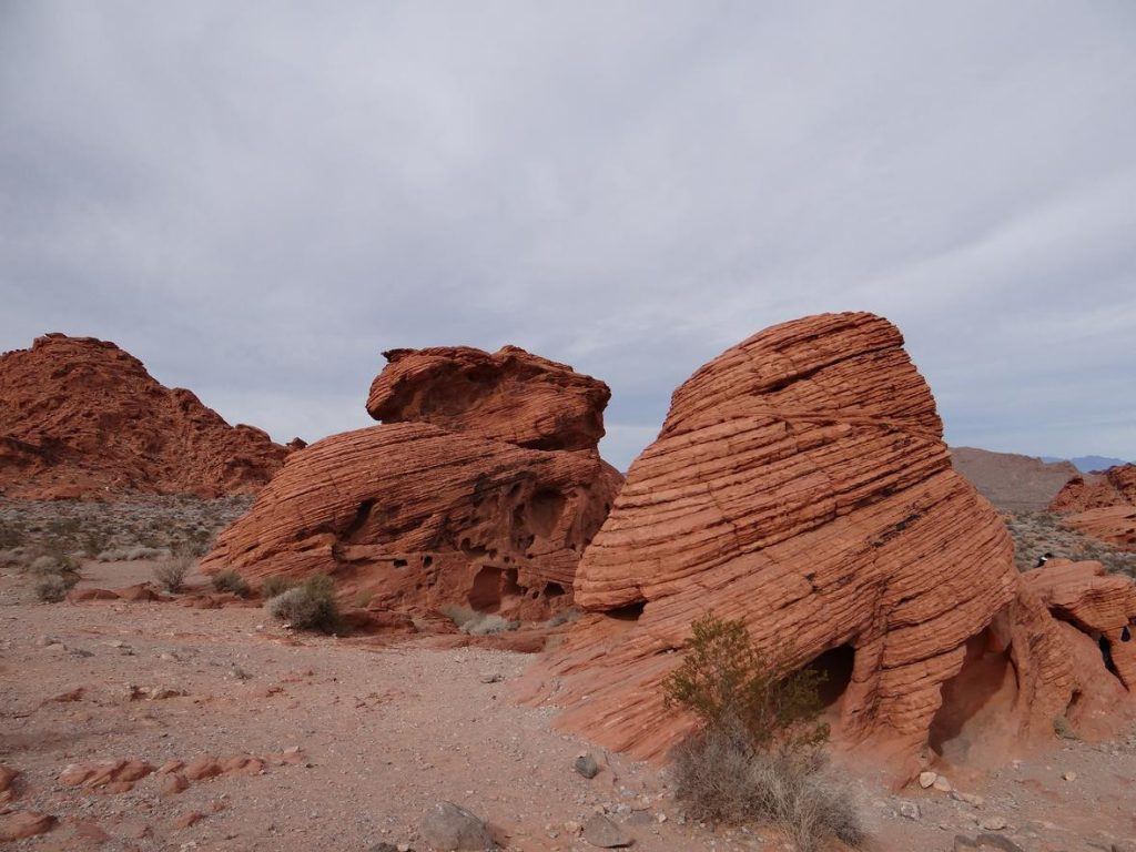Valley of Fire: Beehive Formation mittig